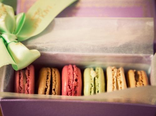 fromme-toyou:  One of life's best little treats…  Ladurée Macarons