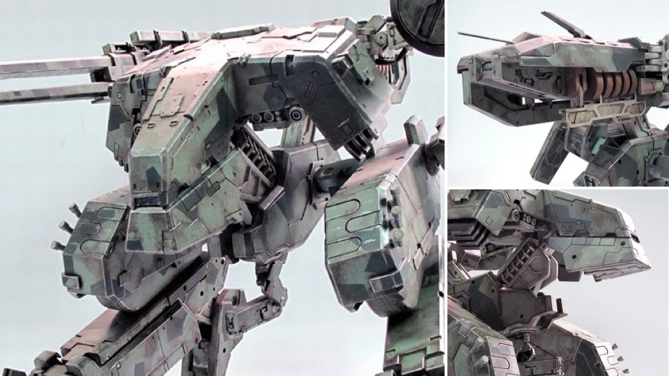 Ever fancied your very own model of a Metal Gear REX? Well, as of March 2nd, the company, ThreeA's will be selling these incredibly detailed replicas. Unfortunately, they aren't life size and aren't driveable, but they are an exact copy, just 1/48 the real size. The models are incredibly expensive, setting you back a whopping $490! For more news and features - follow BroGamer. Or feel free to submit a piece, join the Brommunity.