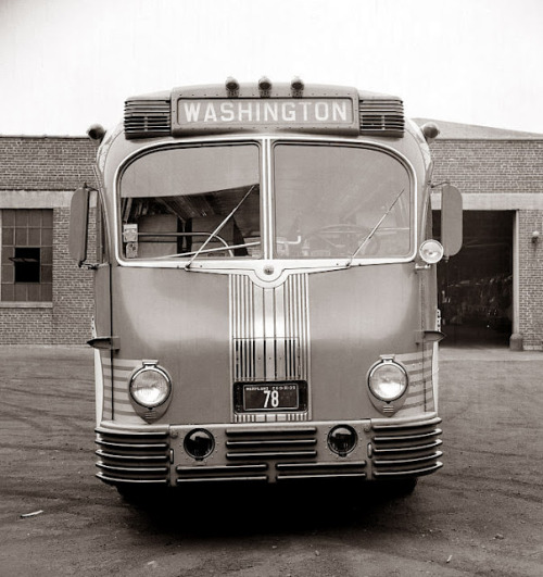 talented10th:  A Greyhound Bus from 1938… Washington, DC bound!