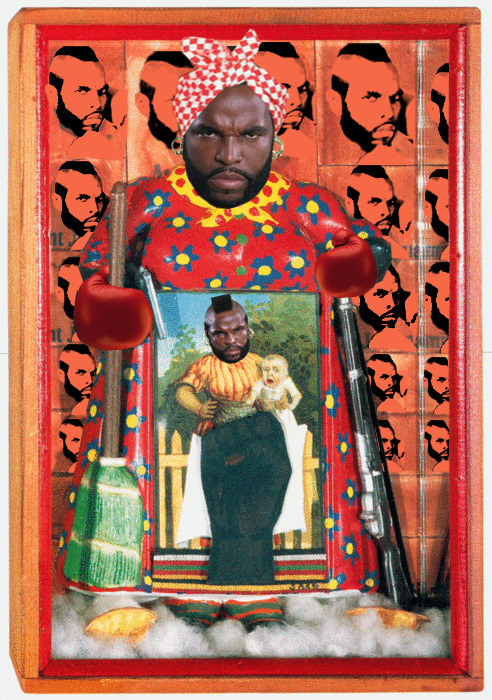 The Liberation of Clubber Lang (Black History Month) Artist: Betty Saar Villain: Clubber Lang (Rocky III)