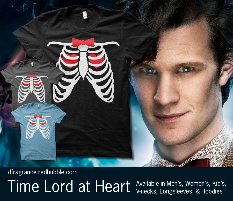 rachaelmakesshirts:  I'm a Time Lord at Heart…. Get it here as a hoodie or a T-shirt in lots of different styles and colors! Follow RachaelMakesShirts on Tumblr & Facebook for discounts, sneak peeks, and giveaways!P.S. - Thank you for the great idea, James!