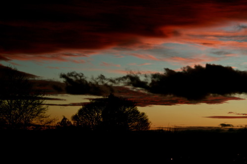 23/02/12-Hereford Sunset.