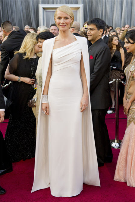 Best Dressed… Gwyneth Paltrow in Tom Ford… Oscars 2012