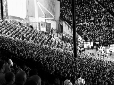 stadium-love-:  The Kop Corner at Hillsborough Stadium in Sheffield, England. by Daniel Butcher