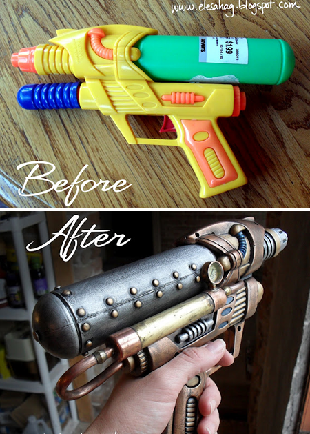 Toy gun to steampunk awesomeness :D