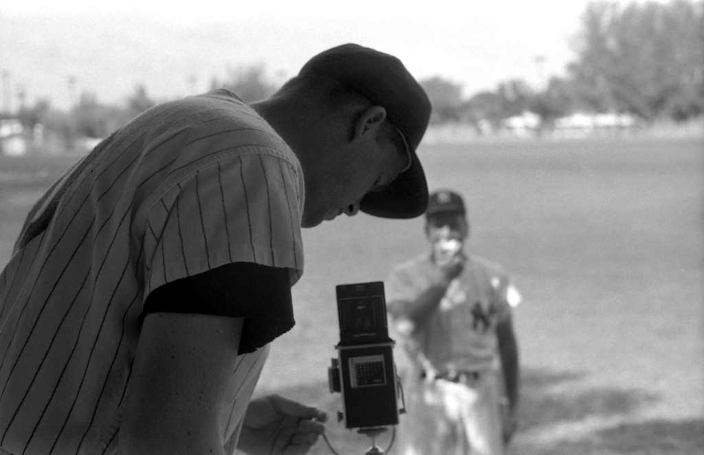 In 1961, LIFE handed a camera to 25-year-old Yankee player, Tony Kubek. They've recently published never-before-seen portraits he took of his teammates. via life; Photo by Bob Fellows