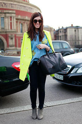 Street Chic_ London Fashion Week Fall 2012