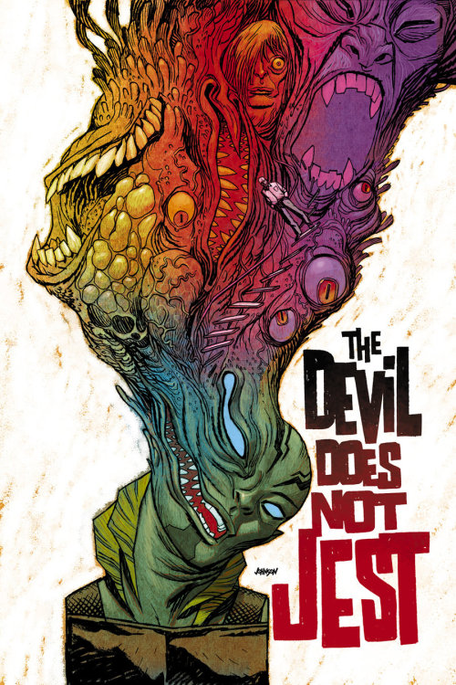superstarling:  Abe Sapien: The Devil Does Not Jest by devilpig
