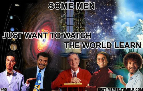 best-memes:  #90 | FEB 27TH 2012 | THE GOOD GUYS  Some of the smexiest men to ever live. If I could add someone it would be Alton Brown. For me, he is one of the most influential men in cooking.