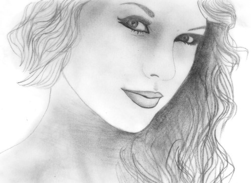 Taylor Swift as requested by anon!  What do you guys think? :)