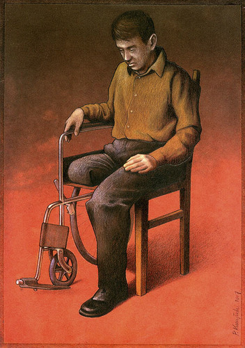 The satirical art of Pawel Kuczynski