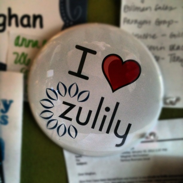 #zulily desk decorations. We love our #creative employees! (Taken with instagram)