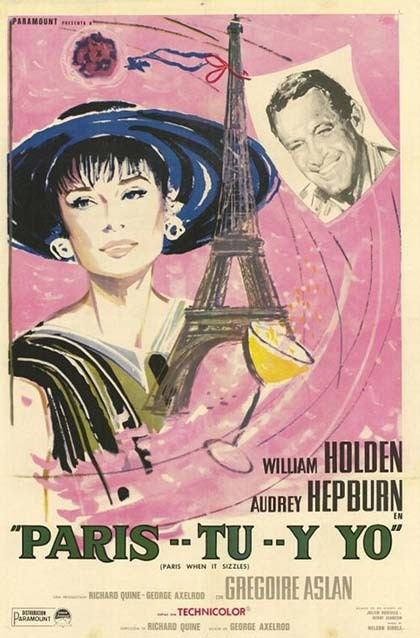 Paris-When it Sizzles Spanish Poster :)