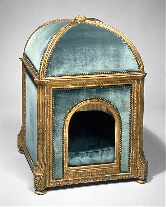 Dog Kennel  ca. 1775–80 Château de Versailles, (made for Marie Antoinette's dogs) Jean-Baptiste-Claude Sené  (1748–1803)