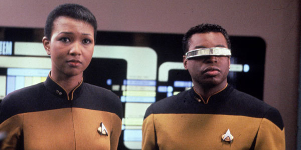 "latimes:#LATimes #StarTrek  Great interview with LeVar Burton over on Hero Complex. He talks about ""Star Trek,"" ""Reading Rainbow"" and ""Roots."" On castmates:  PKD: Who do you see the most? LB: Brent [Spiner] and Marina [Sirtis]. Jonathan travels a lot directing. Patrick infrequently. I go over there or he comes over here. Gates [McFadden] is busy with her theater. Michael Dorn is out spending his money.  On fans:  PKD: Any notable fans? LB: Jimmy Fallon is a big fan of the show. He does all of these singer impersonations and a couple of months ago he did Jim Morrison singing the ""Reading Rainbow"" theme song. It's really good.  On race:  PKD: It seems like Geordi always got shot down by women. Constantly. Did you ever bring that up to the showrunners? LB: Mm-hmm. It was frustrating to me. I mean from a writer's perspective, I get that it was the idea that the nerd or the geek is inept around the feminine form. But I was never comfortable with it. And I also thought there were some other things going on. Sociological things. Everybody had a sexual identity, even Data the robot. But Geordi didn't. The Klingon did. But the black man didn't. You'd have to be a black man to have the perspective, because you see that pattern repeated throughout popular culture, so it becomes a familiar pattern that you notice readily.  Bonus nerd thing: Just realized Times' staffer Patrick Day's initials are PKD. Photo: Astronaut Mae Jemison appears in an episode of ""Star Trek: The Next Generation"" with LeVar Burton. Credit: Robbie Robinson / Paramount Pictures"