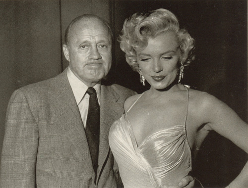 Marilyn Monroe with Jack Benny
