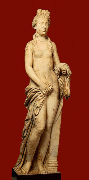 Aphrodite, 3rd century, Roman copy from a Greek original The Hermitage Museum