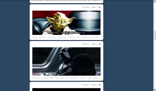 These two gifs in this order on my dash.  Couldn't handle it.