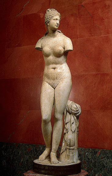 Aphrodite (Venus of Taurida ), 2nd century BCE, Ancient Greece The Hermitage Museum
