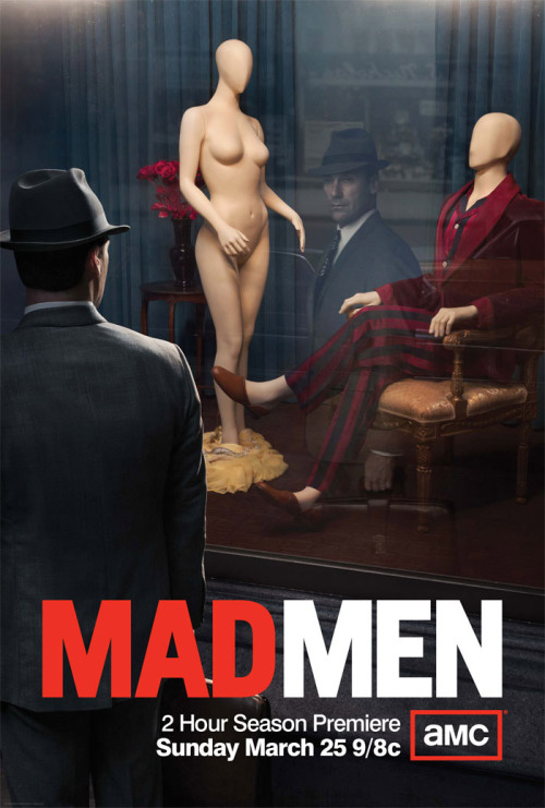 bohemea:  Mad Men season 5 poster