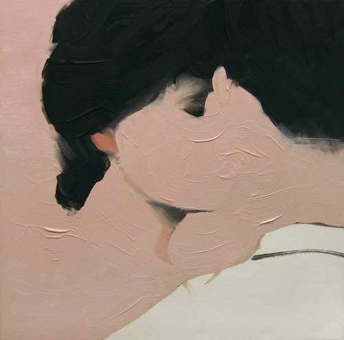 enochliew:  Lovers by Jarek Puczel Artist's description: When we love, we think constantly about each other.