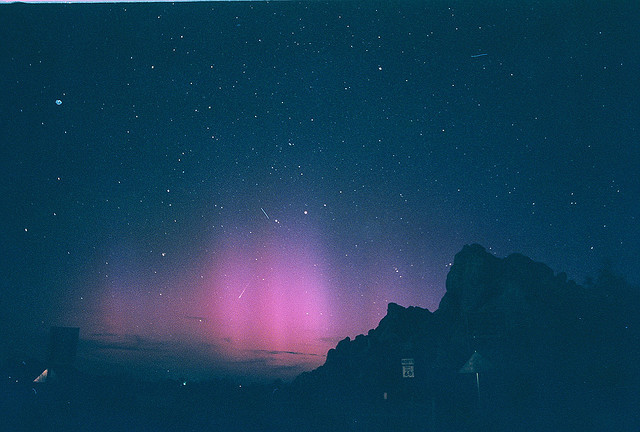 ECHO MOUNTAIN AURORA by chrisgrohusko on Flickr.