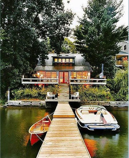 Lake house. Summer come to me.