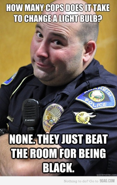 9gag:  Ordinary Cops