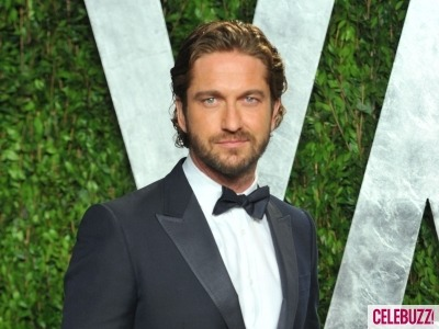Gerard Butler at the 2012 Vanity Fair Oscar After Party
