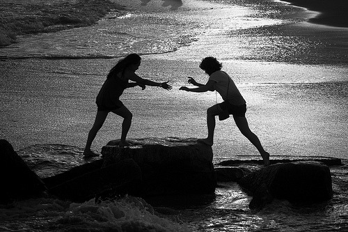 foxmouth:  hand-to-hand combat, coney island style (by Barry Yanowitz)