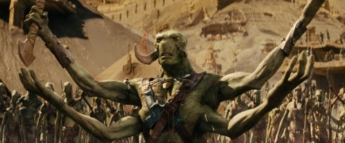grizzlybomb:  Four Minute 'John Carter' Clip – v.s. the White Apes of Mars!