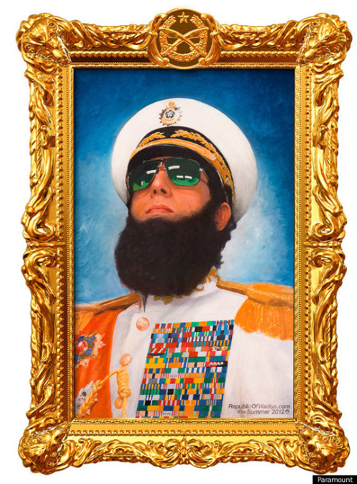 grizzlybomb:  The Dictator (1) – Ryan Seacrest (0)