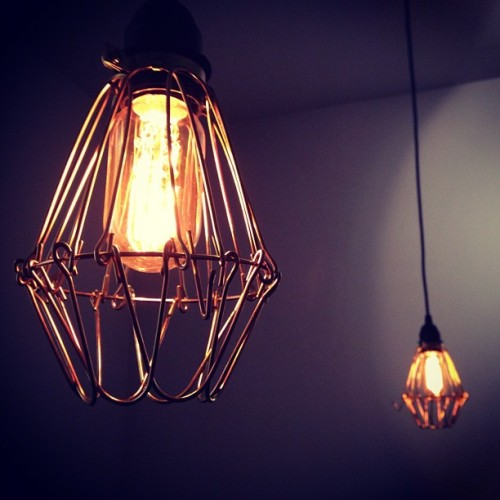 wherearemybrogues:  Put those bulbs behind bars.  (Taken with instagram)