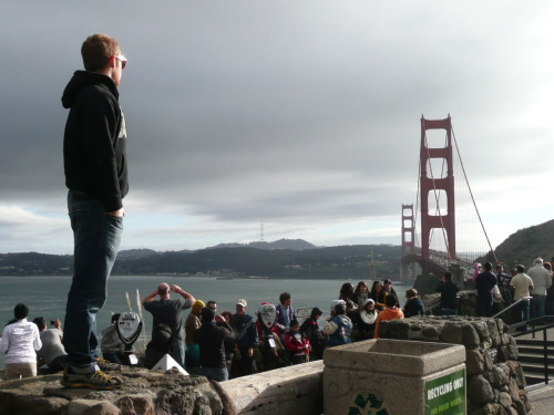 Golden Gate. Photos Coming from the Great Road Trip of 2011 aka Finding Sean Connery's Socks 2k11
