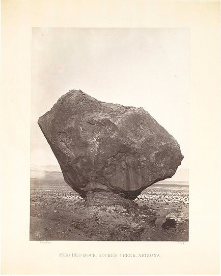 William Bell - Perched Rock, Rocker Creek, Arizona, late 19th century