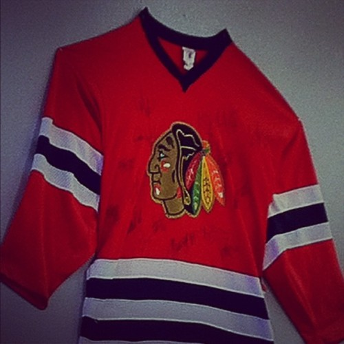 • #BlackHawks  (Taken with instagram)