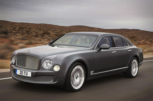 Bentley MulsanneMSRP: $285,000