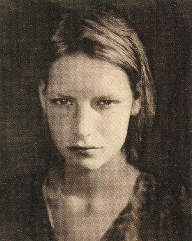 Kirsten Crying, Paris, Studio 9 rue Paul Fort (1990)photography paolo roversi  i-D Magazine, The Emotion Issue, November 2002