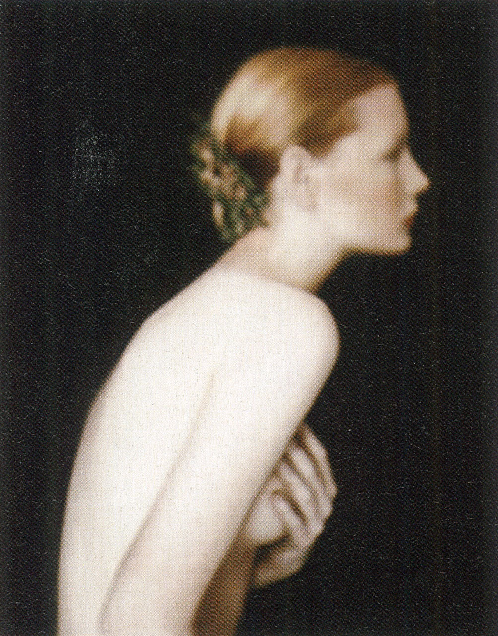 Kirsten, Paris (1988)photography paolo roversi  i-D Magazine, The Emotion Issue, November 2002