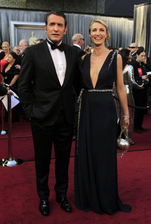 Jean Dujardin at the 2012 Oscars