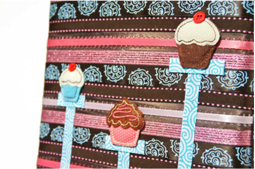 Cupcake Laptop Pocket by Rapt!  $34.50 All laptop pockets by Rapt are handmade to be unique and represent a new, creative and exciting look for electronic protection. The pockets are carefully made with ribbons, a flap that closes with a Velcro opening, and a .35″ cotton batting protecting your laptop on all sides. The inside is made out of a cotton fabric.Laptop Pockets by Rapt are truly unique from the other mass produced electronic protection. Each Pocket is handcrafted in the United States. Since the items are handmade the ribbons are not always as they appear in the photos but the concepts, creativity, and care will remain the same. Click the photo to be directed to the website for more photos! Follow us on twitter! @All_Rapt_Up Like us on facebook! www.facebook.com/allraptup