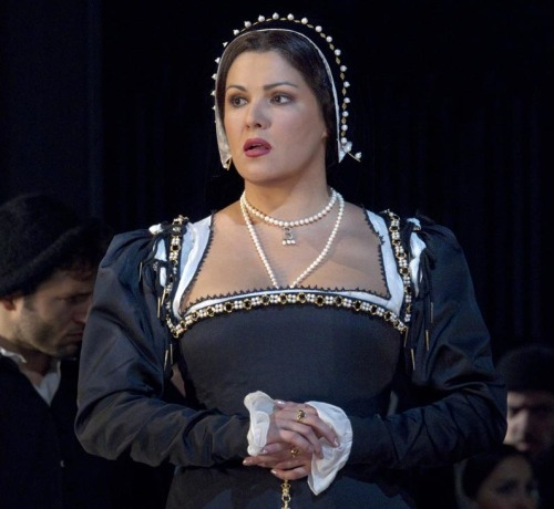 """Donna Anna, Traviata — people say, No, no, don't do it, it's too early. But I think, No, I'd like to try, and now look, if I let them, they'd have me sing 'Traviata' all the time, and it would destroy my voice in three years!""  - Anna Netrebko"