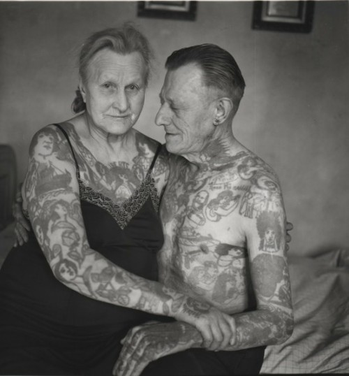 "Q: ""Yeah but what will you look like when you're old and covered in tattoos?"" A: Awesome."