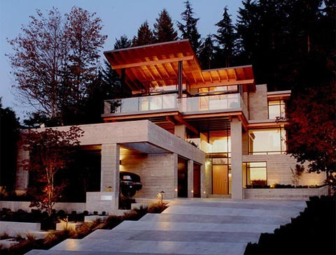 archi-travel:  Residence by Vancouver Residential Architects Posted on Tumblr by: Architect GEM