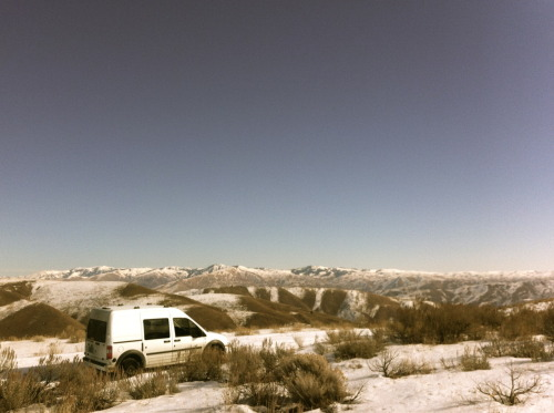 Monday, February 27 2012 Photographer: Cory Grove #vanlife Eastern Oregon.