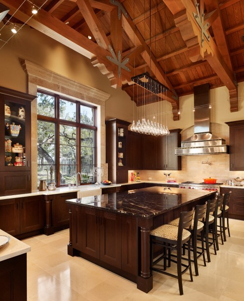 georgianadesign:  Elegant San Antonio kitchen by Palmer Todd.