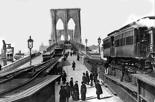 Brooklyn Bridge Transit - BMT Fulton Line (by syscosteve)
