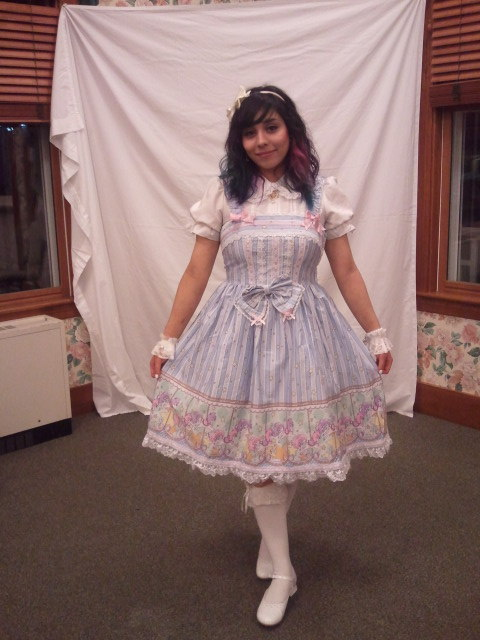 fuckyeahbodyline:  My new Bodyline carousel JSK. I love it! :)