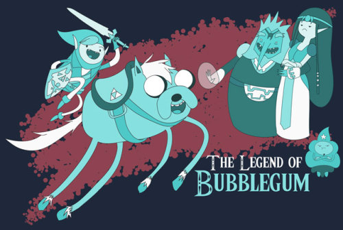 svalts:  The Legend of Bubblegum - by Derek Bacon Website | deviantART