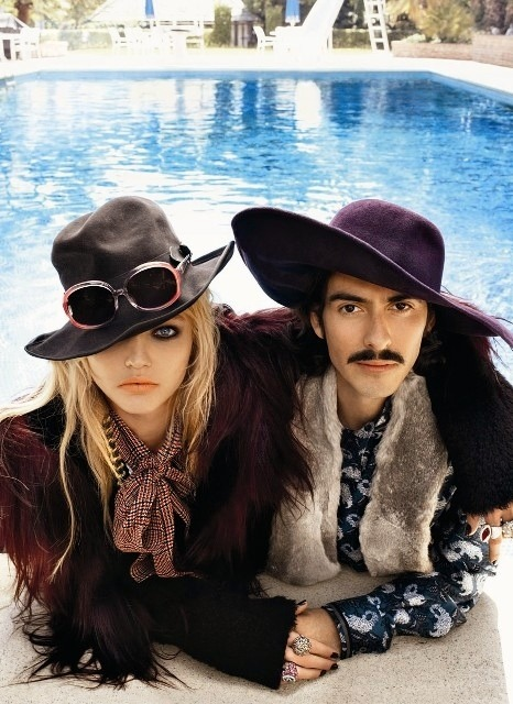 My Bohemian Style and My Bohemian Boyfriend I love how much Dhani Harrison looks like his dad, but even cuter.